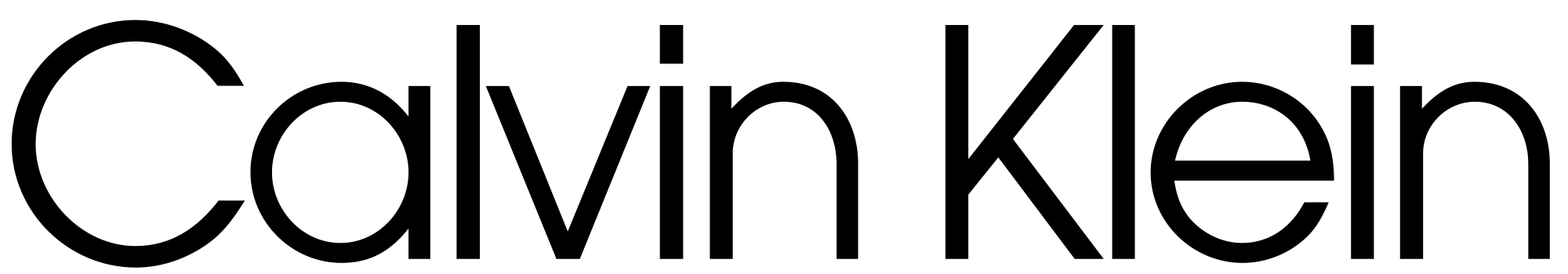 Brand New: New Logo for Calvin Klein by Peter Saville.