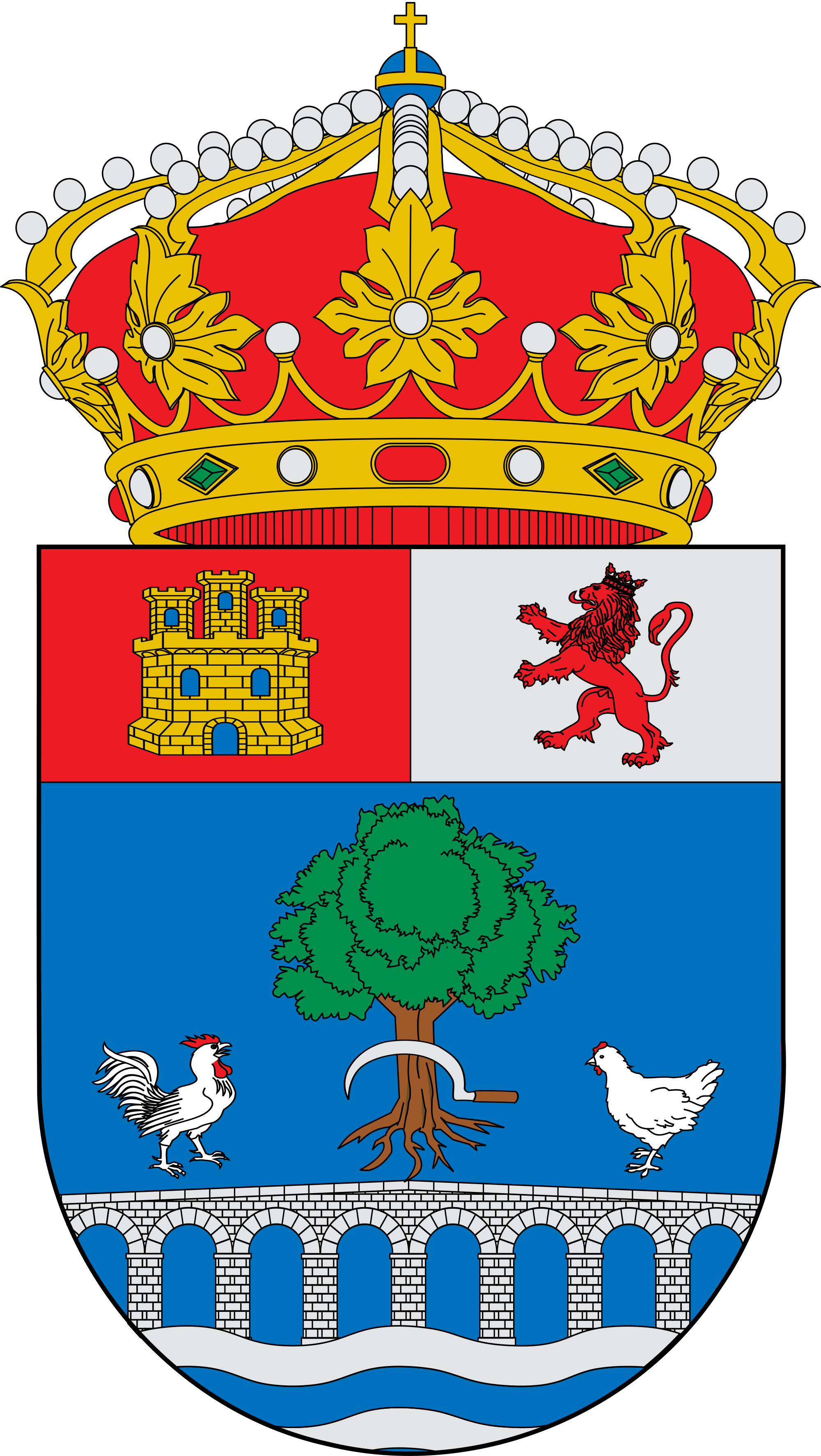 File:Escudo de Santo Domingo de la Calzada.