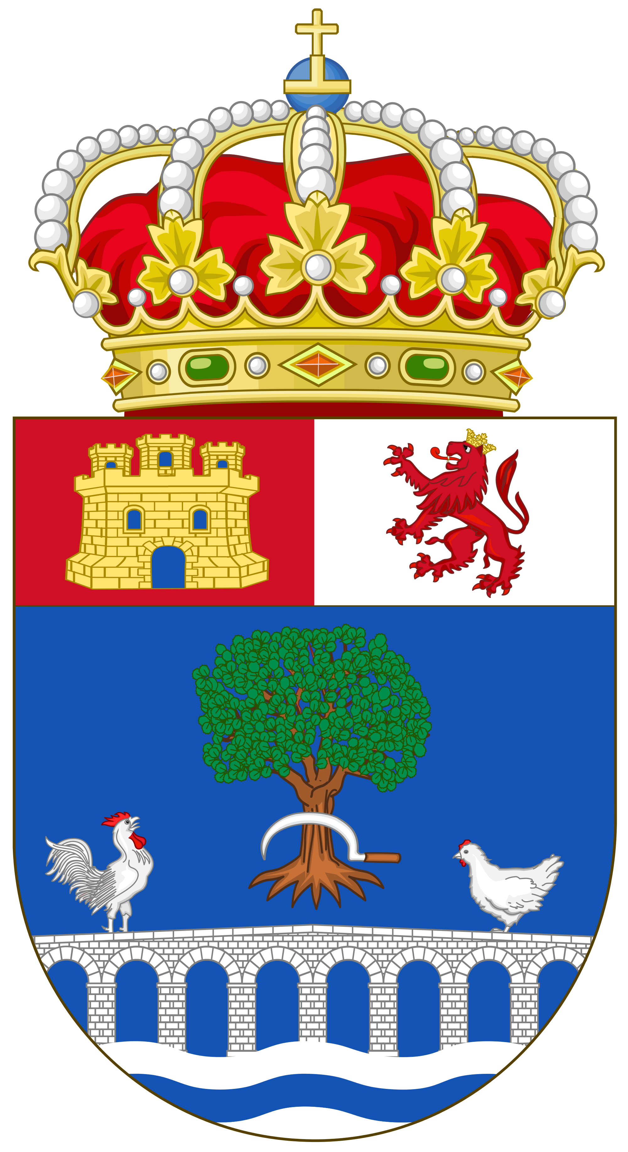 File:Coat of Arms of Santo Domingo de la Calzada.svg.