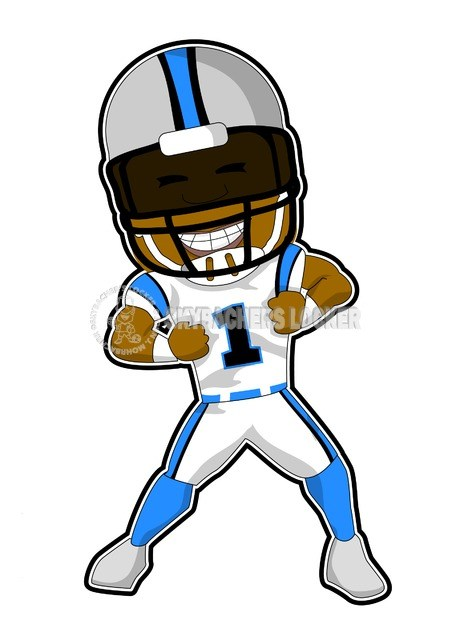 Cam Newton Drawing.
