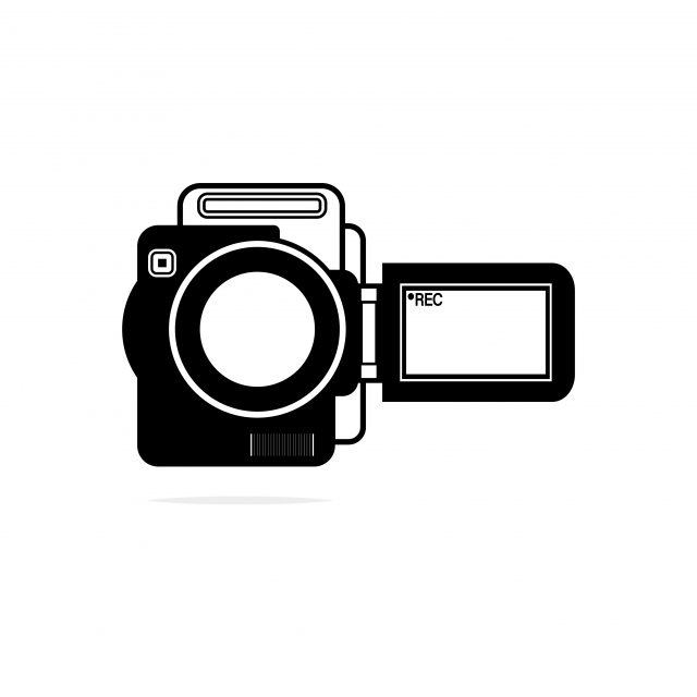 Handy Cam Icon Designed For Any Applications Purpose, Camera.