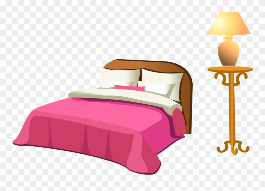 Table Clip Bed Clipart Library.