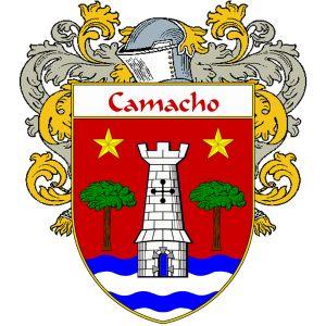 Camacho Coat of Arms http://spanishcoatofarms.com/ has a wide.