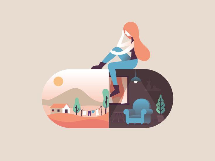 1000+ ideas about Flat Illustration on Pinterest.