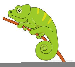 Chameleon Tongue Clipart.