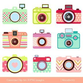 Cute Camera Clip Art \