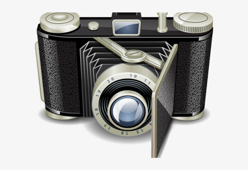 Camera Icons Old Fashioned.