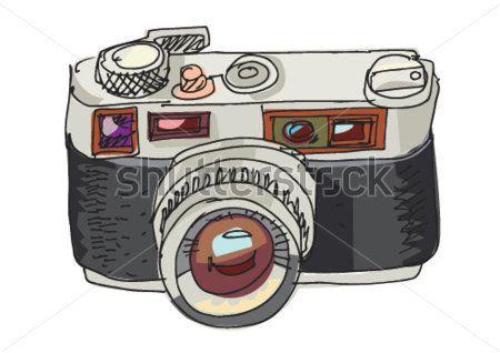 Cámara DE Fotos Vintage Dibujos Animados imágenes.