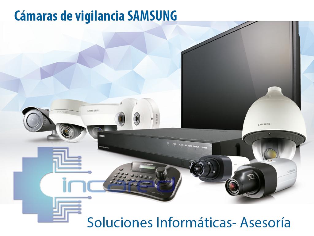Mantenimiento de cámaras de vigilancia Samsung.
