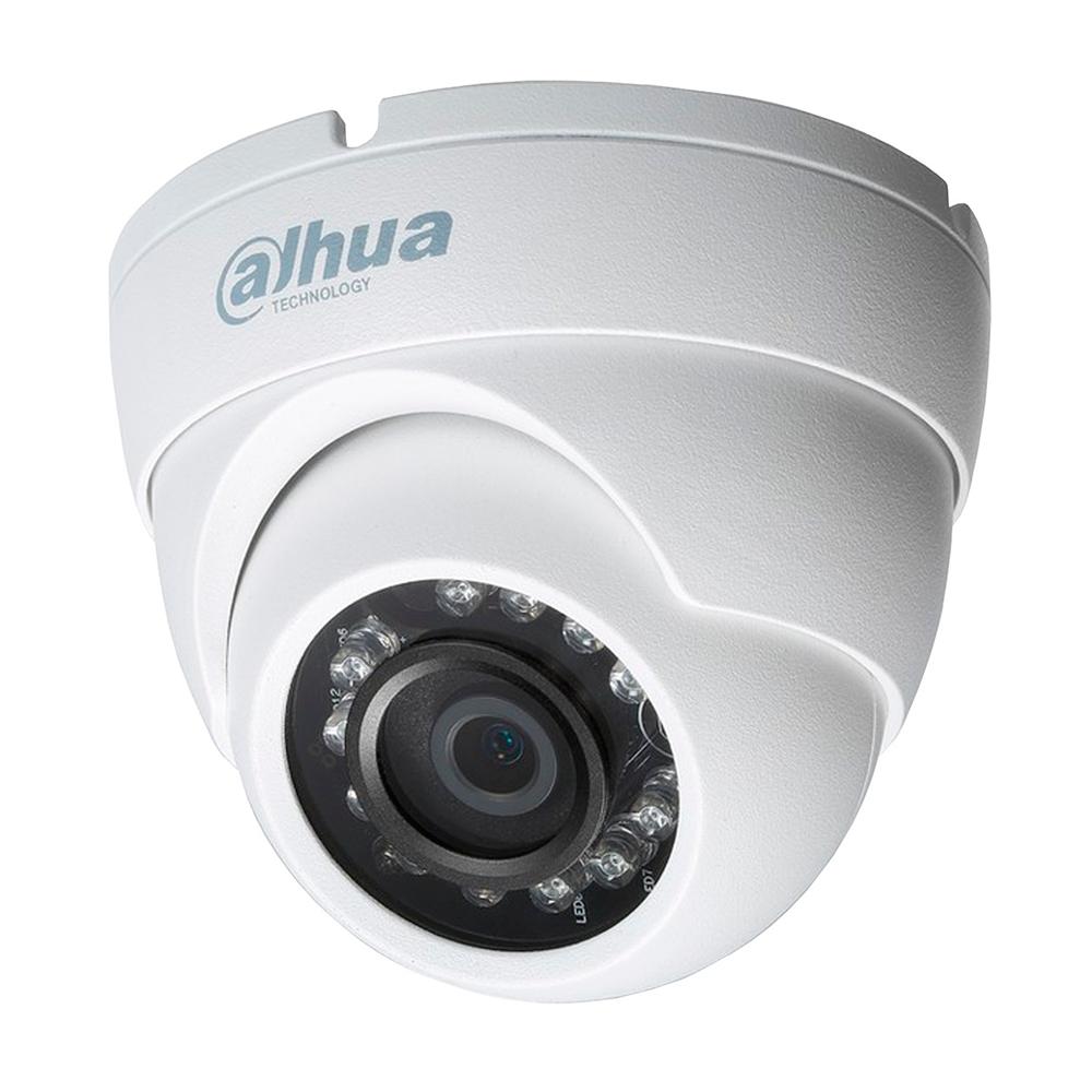 Cámara de Seguridad de Domo, Dahua HDAW1100M28S3, 720P.