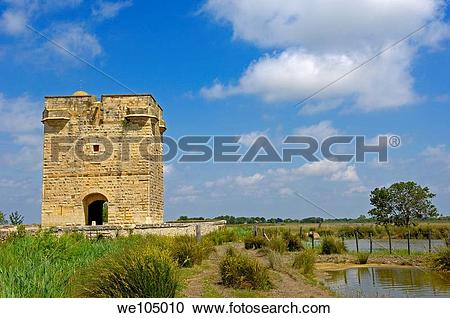 Stock Photography of Tour Carbonniere, Aigues.