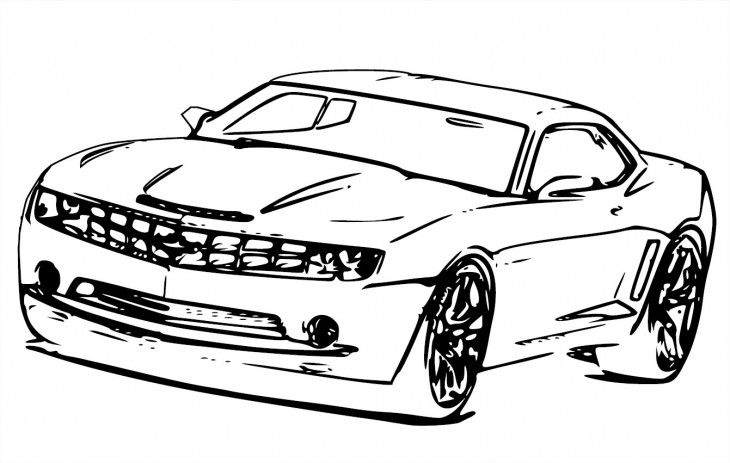 Free Camaro Clipart Black And White, Download Free Clip Art.