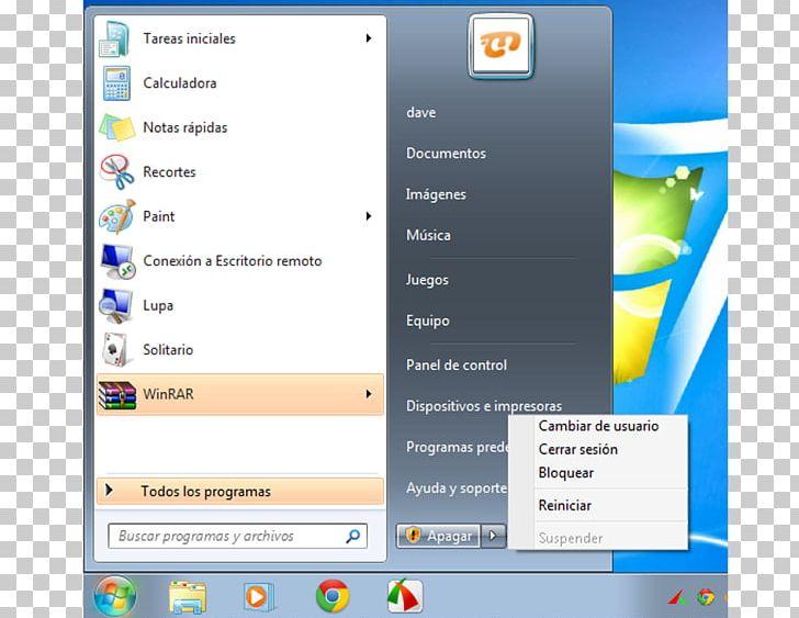 Computer Program Start Menu Windows 7 Windows Key Desktop.