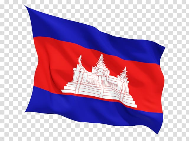 Flag of Cambodia Khmer Empire Angkor Wat National flag.