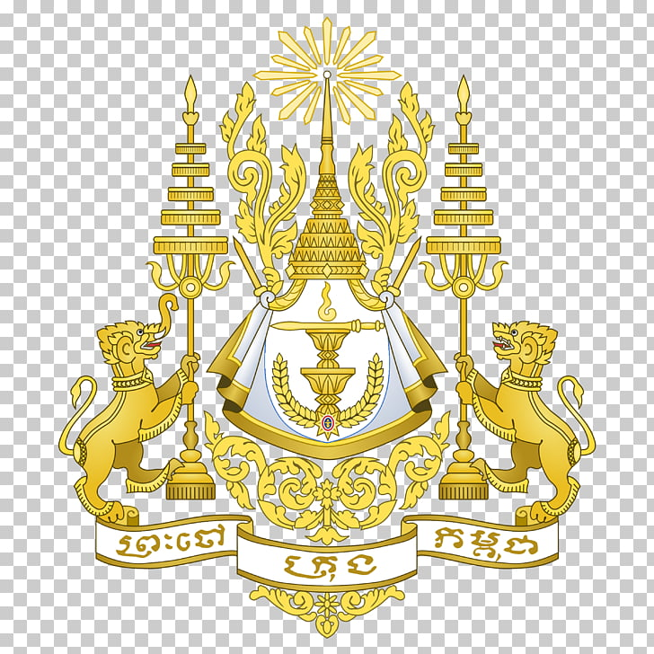 Royal arms of Cambodia Royal coat of arms of the United.