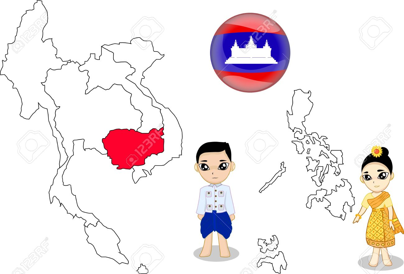 Cambodia Royalty Free Cliparts, Vectors, And Stock Illustration.