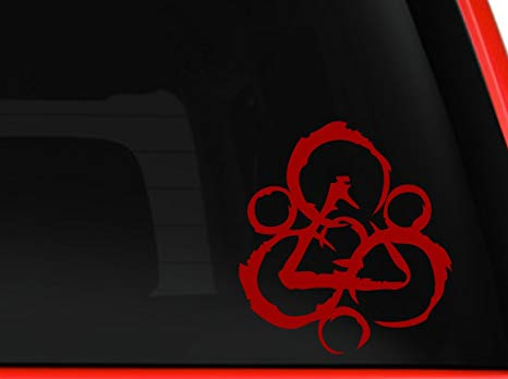 Coheed and Cambria Logo Car Decal / Sticker Approx. 5\