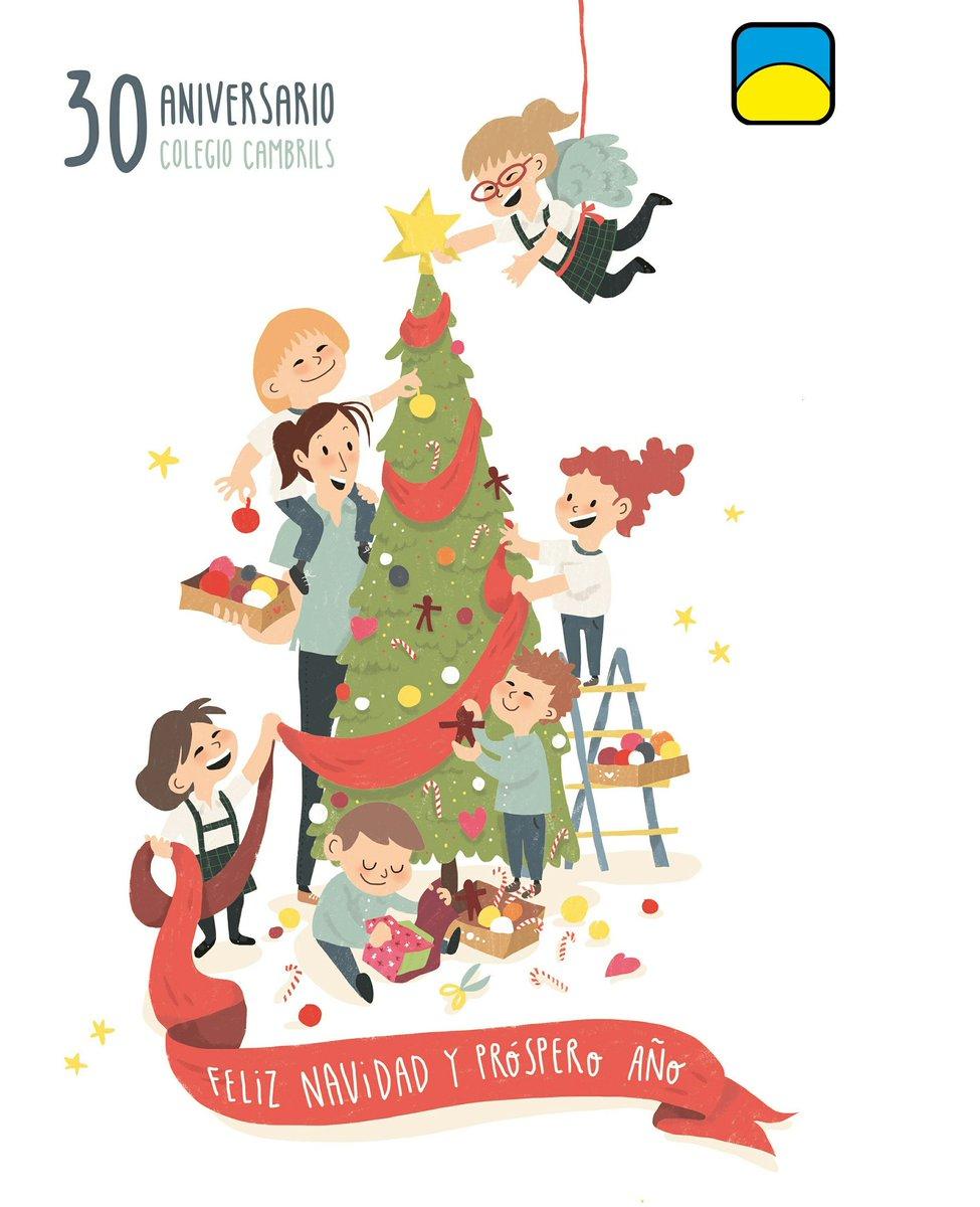 "COLEGIO CAMBRILS on Twitter: ""#feliznavidad #familias #alumnos."