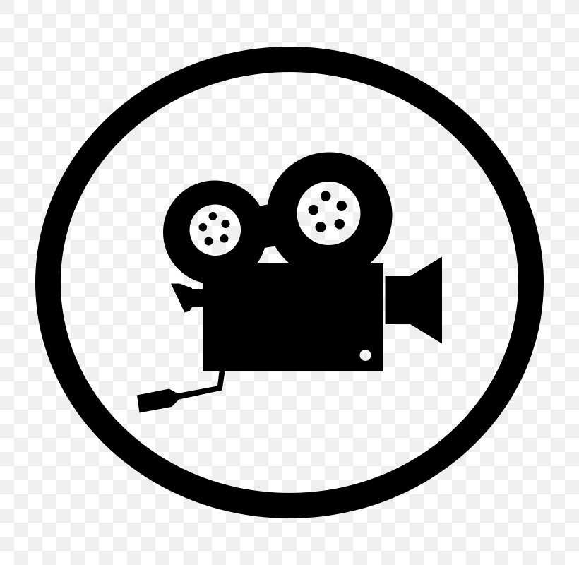 Photographic Film Video Camera Clip Art, PNG, 800x800px.
