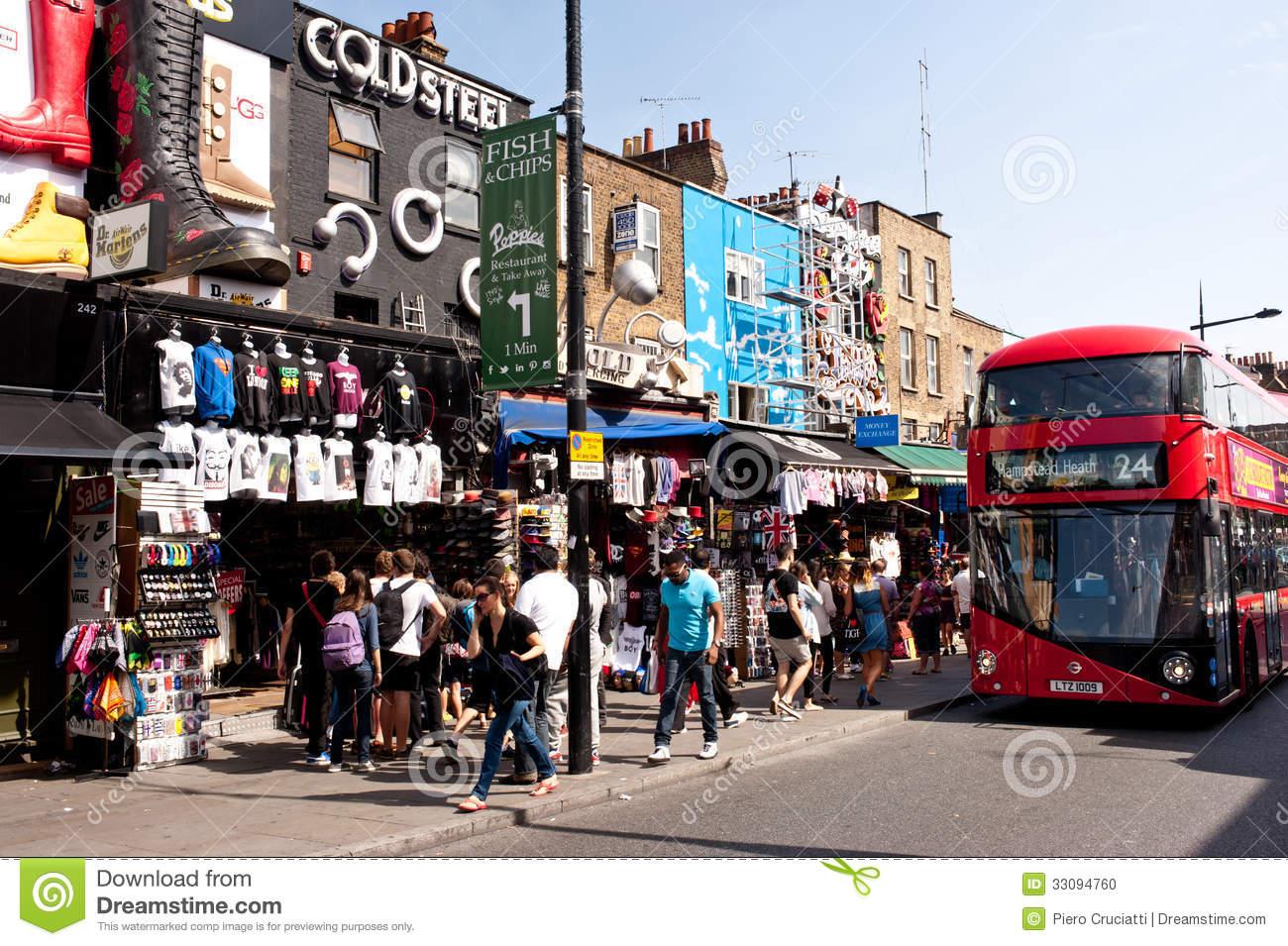 Camden Town Editorial Photo.