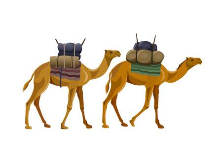 2,247 Camel Caravan Stock Vector Illustration And Royalty Free Camel.