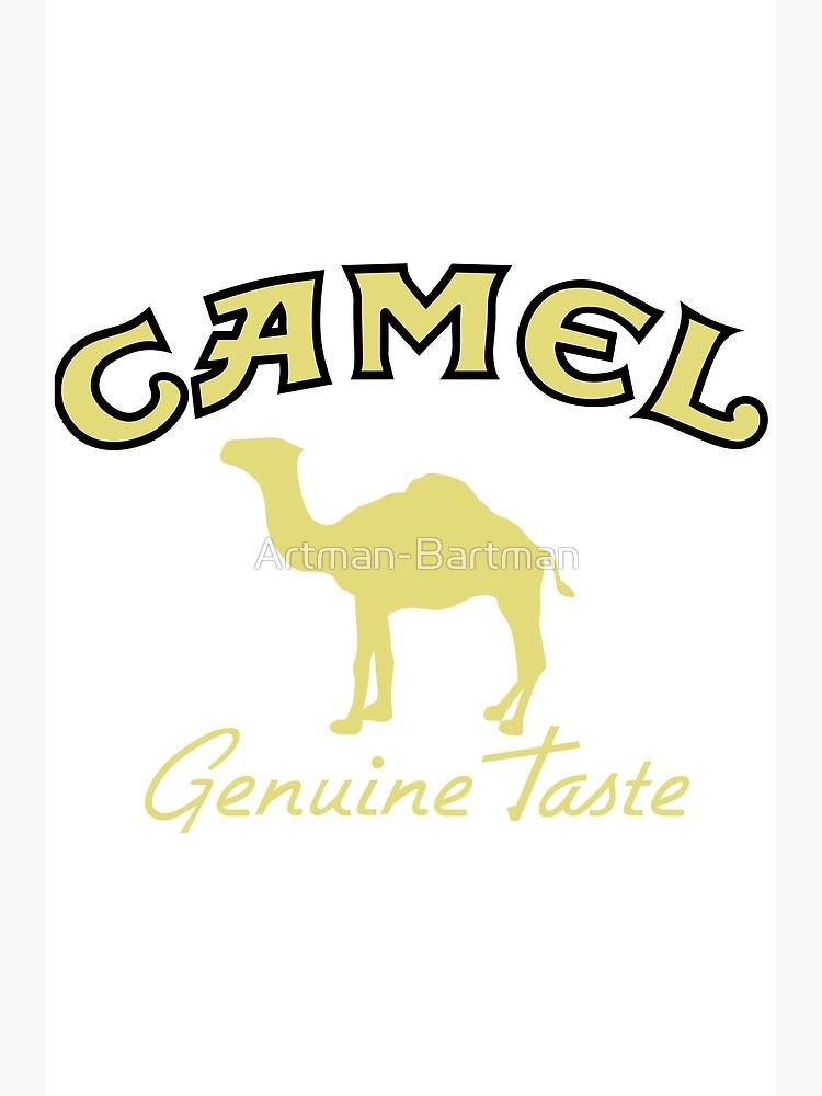 Camel Cigarette Logo.
