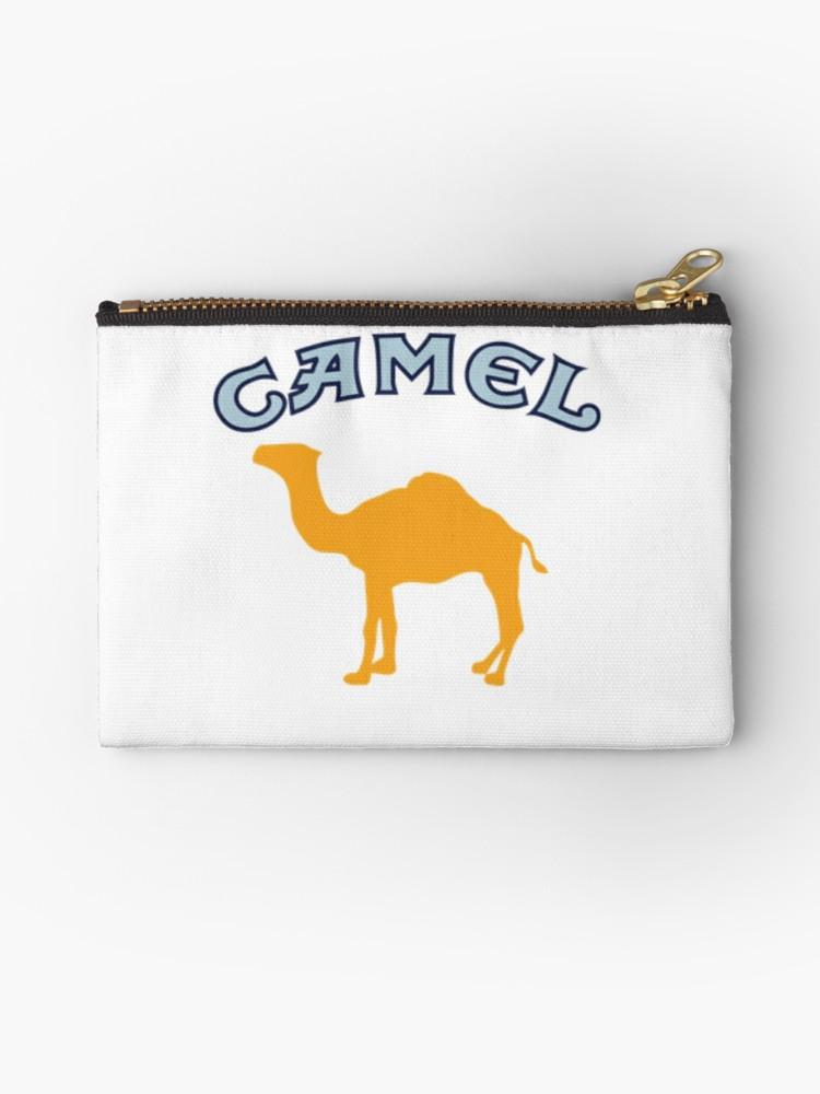 \'Camel Cigarette Logo\' Zipper Pouch by LeakyLake.