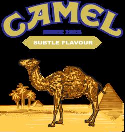 Camel cigarettes Logos.