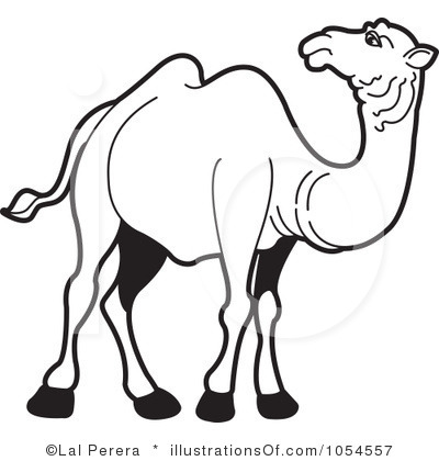 Camel clipart black and white 2 » Clipart Station.