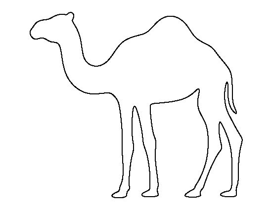1836 Camel free clipart.