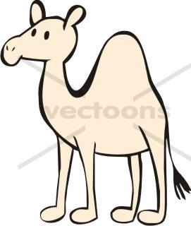 Camel Clipart Easy.