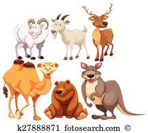 Camel hair Clip Art Illustrations. 25 camel hair clipart EPS.