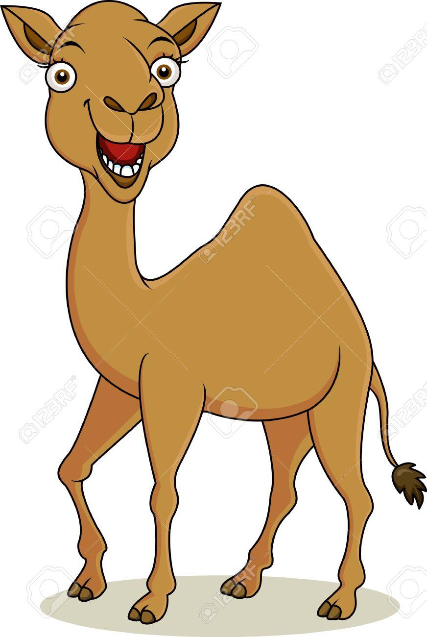 Funny Camel Cartoon Royalty Free Cliparts, Vectors, And Stock.