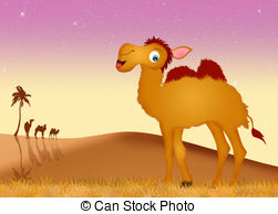 Camel in the desert Clip Art and Stock Illustrations. 528 Camel in.