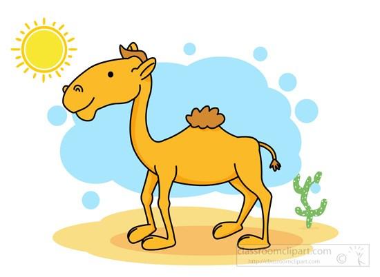 Camel in desert clipart 6 » Clipart Portal.