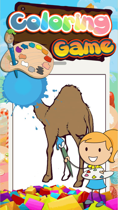 Draw Pages Game Joe Camel Version.
