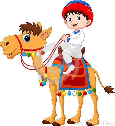 Camel Rider Stock Illustrations.