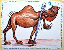 Mark 10:25 explains: It is easier for a camel to go through The.