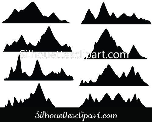 17 bästa idéer om Mountain Silhouette på Pinterest.