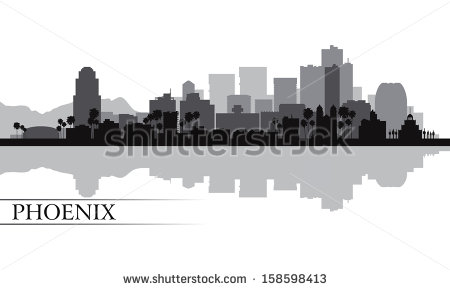 Phoenix Skyline ภาพสต็อก, ภาพและเวกเตอร์ปลอดค่าลิขสิทธิ์.