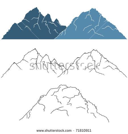 Mountain Terrain Stock Photos, Royalty.