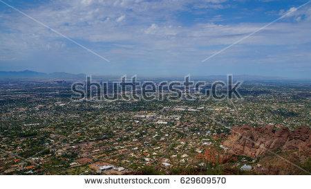 Phoenix City Hot Stock Images, Royalty.