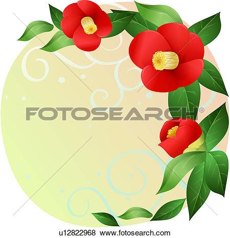 Camellia Clip Art Illustrations. 168 camellia clipart EPS vector.