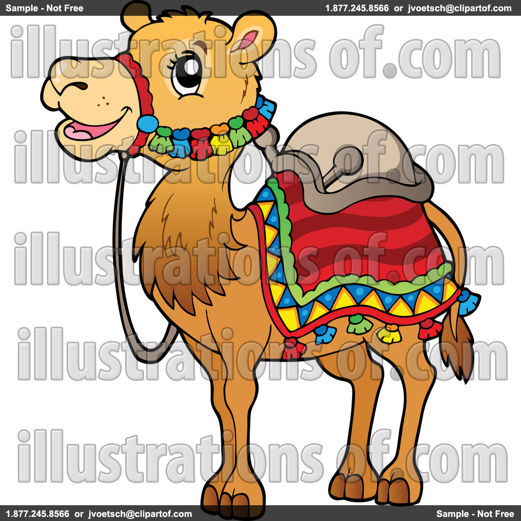 Camel Clipart Black And White.