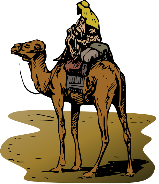 Person Riding Camel Clip Art at Clker.com.