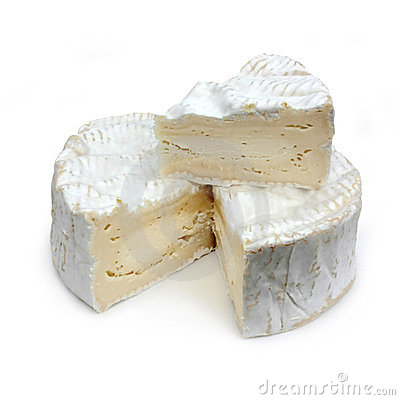 Portion Of French Cheese.
