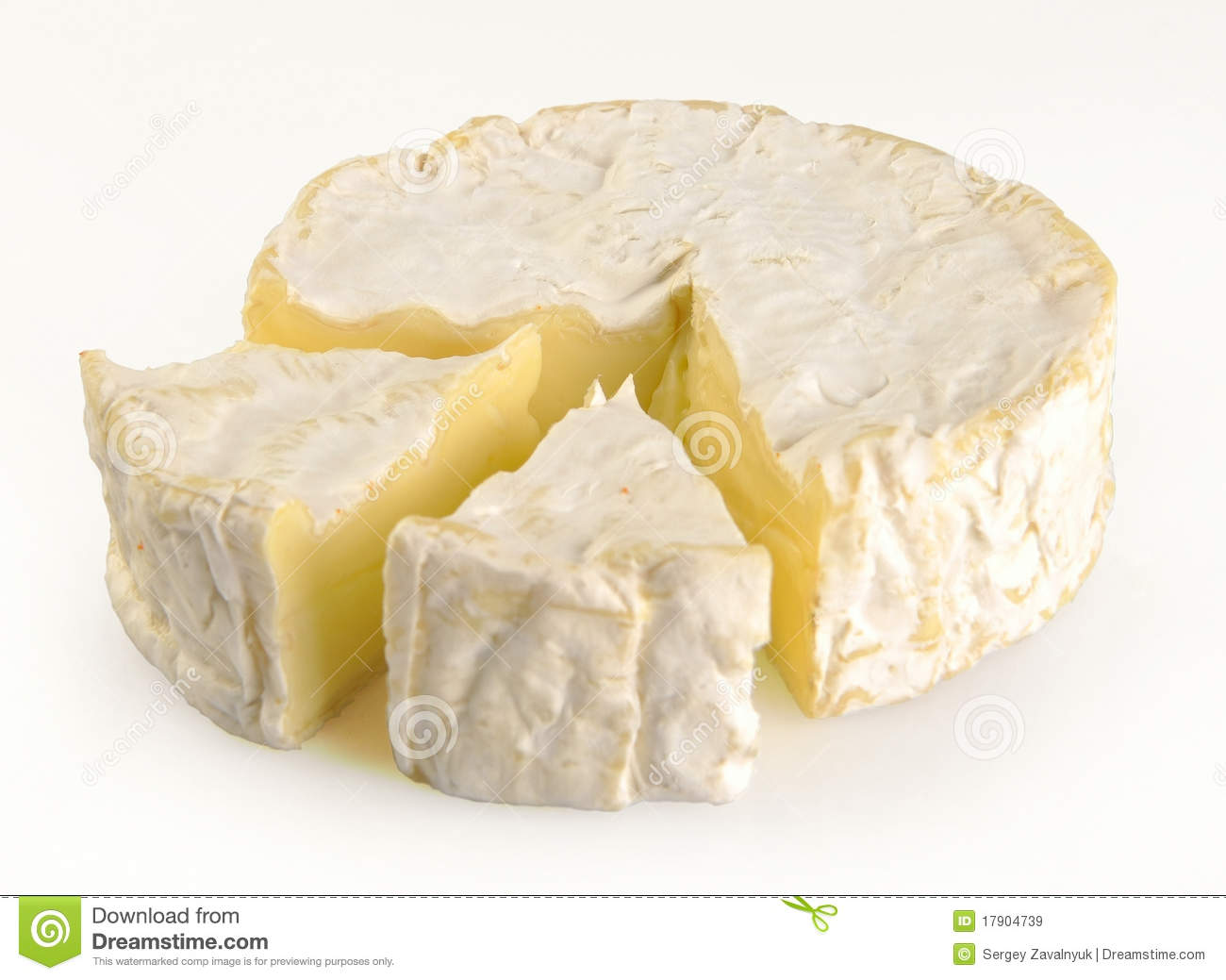 Camembert Cheese Royalty Free Stock Images.