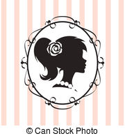 Cameo Vector Clip Art Illustrations. 583 Cameo clipart EPS vector.