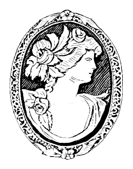 Cameo Clipart & Free Clip Art Images #14026.
