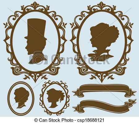 Cameo Clip Art and Stock Illustrations. 727 Cameo EPS illustrations.
